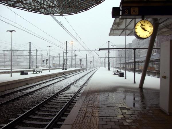 Sneeuw.