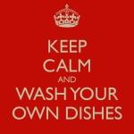 Wetenschappers doen hun eigen afwas.