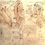 Tekeningen van da Vinci.