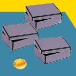 Bij de doosjesparadox van Bertrand moet je de kans berekenen dat een tweede munt ook van goud is.