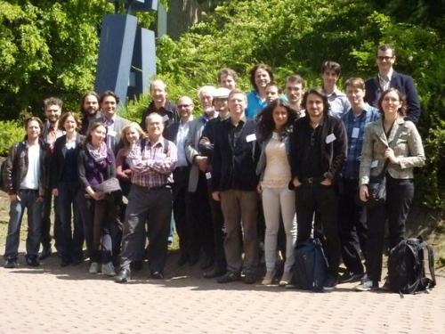 Groepsfoto van het symposium.