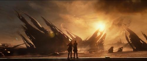 Ruïne uit Ender's Game.