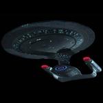 Met een kloek sterrenschip als de Enterprise is het net iets makkelijker om moedig op sterrentoch te gaan.