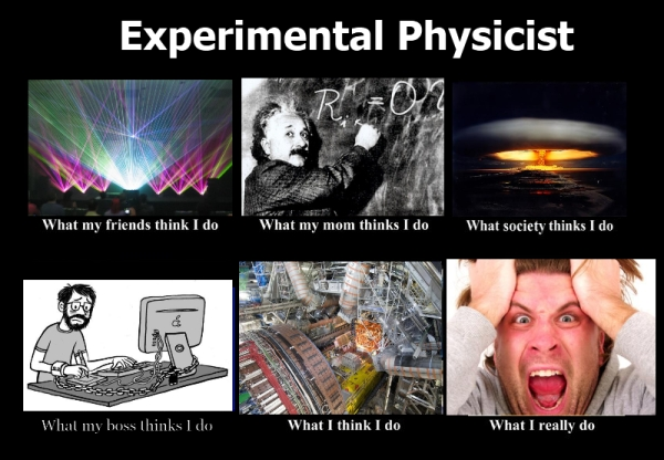 Feit: Experimentele fysici hebben veel geduld nodig.