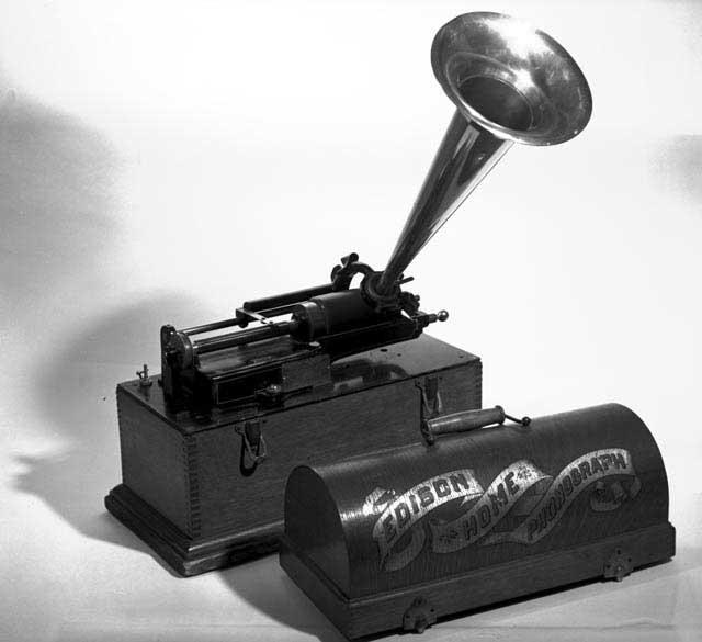 Edison's fonograaf.