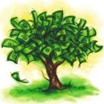 Vooralsnog hebben wetenschappers nog geen geldboom kunnen kweken.