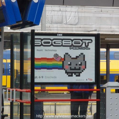 Affiche voor Gogbot 2012.