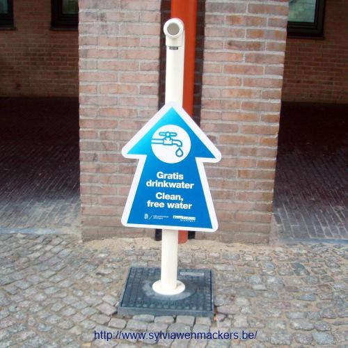 Gratis drinkwater in Groningen.