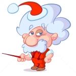 Einstein is klaar voor de Kerst. U toch ook?