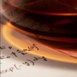 Ik heb mijn koffie het liefst met suiker en fysica. Bron: http://luke-b.deviantart.com/art/Coffee-Physics-22284243.