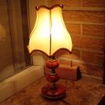 Dit lampje brandde wél op de 'Lampadeire Quiz'.