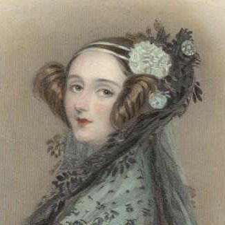 Ada Lovelace was wiskundige en ze ontwikkelde het eerste computerprogramma... in 1843.