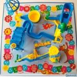 Het bordspel Muizenval is opgebouwd rond een Rube-Goldbergmachine