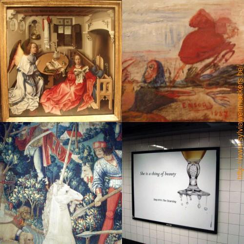 Belgische kunst in New York.