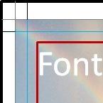 Hulplijnen bij het ontwerpen van kaartjes om digitaal te laten drukken.