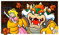 Prinses Peach wordt gevangen genomen en Mario zal haar moeten redden.