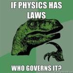 Wat is er beter dan filosofie van de fysica? Filosofie van de fysica met een dinosaurus erbij!