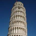Het ultieme bewijs dat ik in Pisa ben: een foto van de hellende toren.