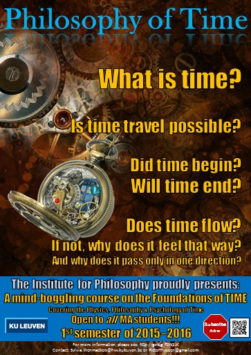 Poster Philosophy of Time.