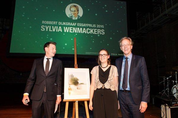 Bekendmaking tijdens het Gala van de Wetenschap (foto door Daniël Rommens later toegevoegd aan dit bericht).