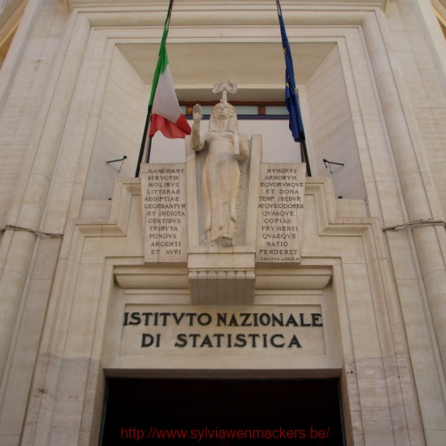 Bureau van de Statistiek in Rome.
