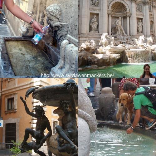 Rome van fontein tot fontein.