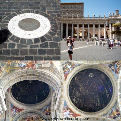 Gezichtsbedrog in Rome.