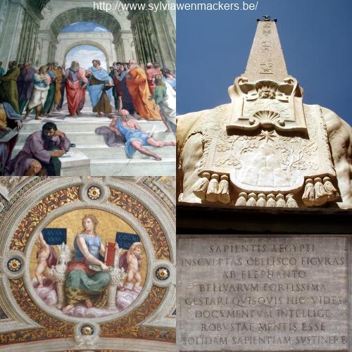 Wijsbegeerte in Rome.