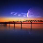 Dromen van Saturnus op de Afsluitdijk.