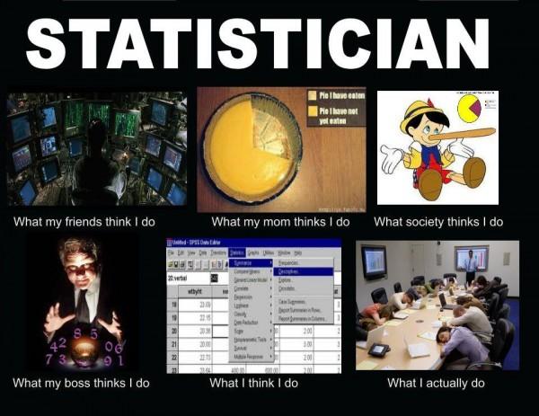 Feit: Statistici vallen, gemiddeld genomen, wel te vertrouwen.