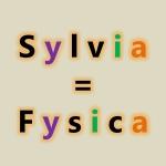 Fysica heeft dezelfde klinkers in dezelfde volgorde als Sylvia.