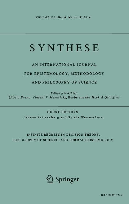 Speciaal nummer van Synthese.