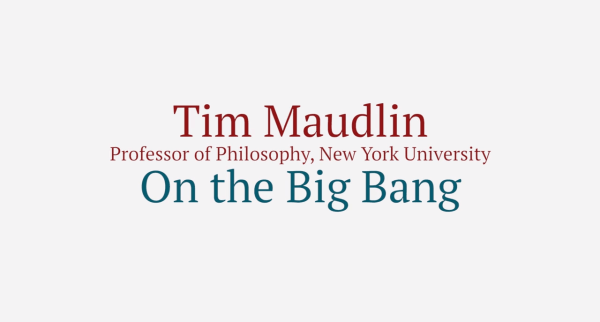 Link to video of Tim Maudlin.