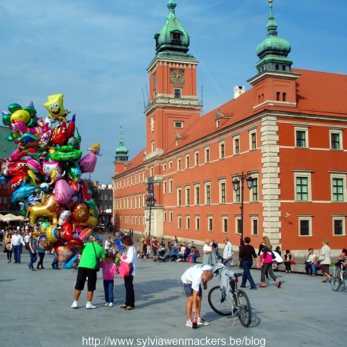 Nieuwe stad in Warschau.