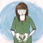 Veel zwangere vrouwen krijgen last van hun bekken.